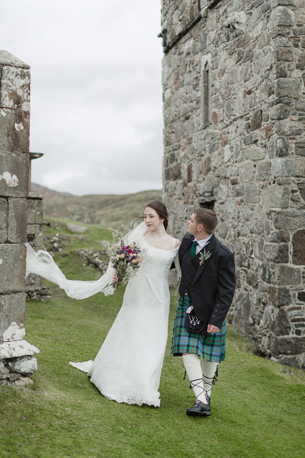 wedding photos scotland isle of skye