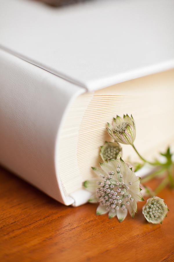 wedding album the lodge on loch goil classic spine