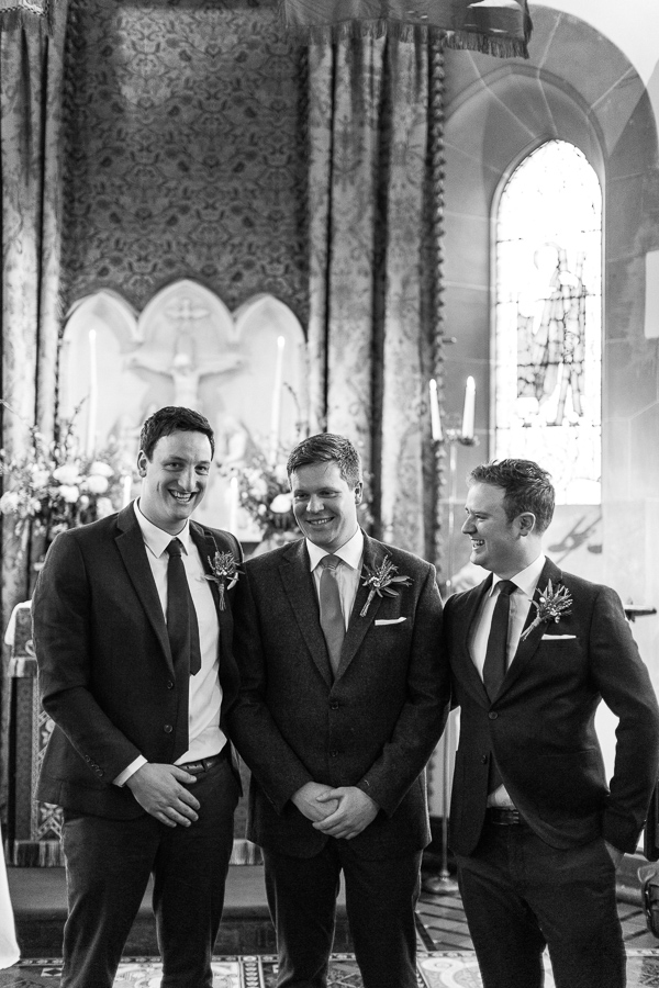 grooms party cromlix chapel