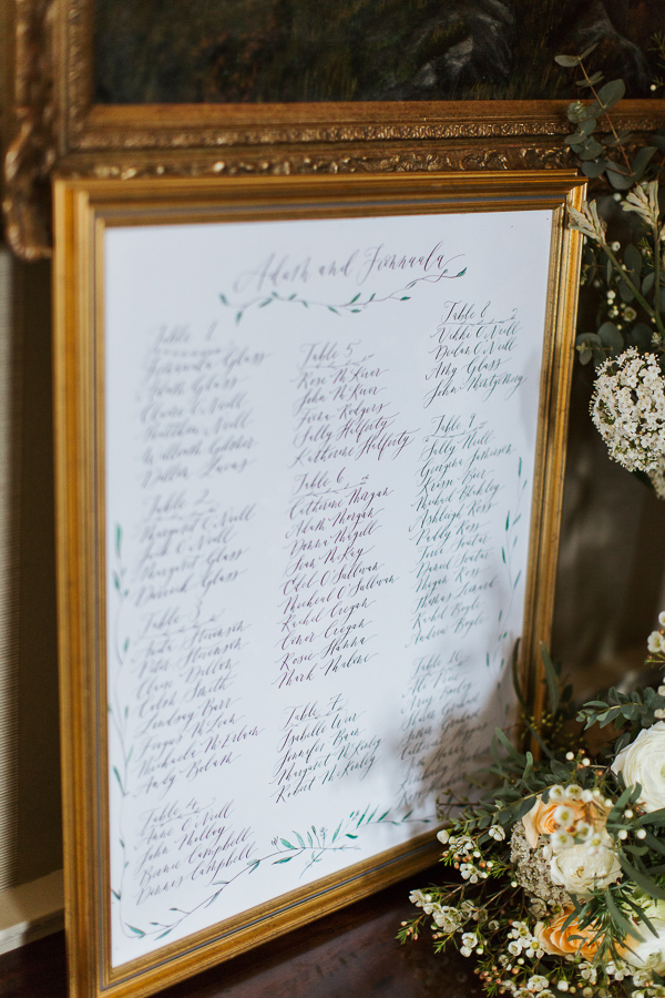 wedding guests list cromlix house