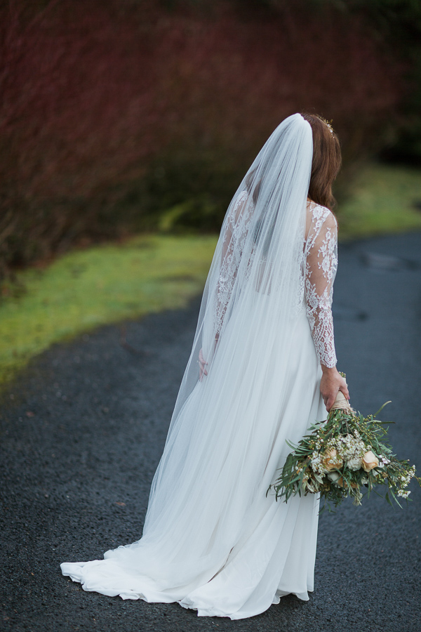 wedding dress cromlix house