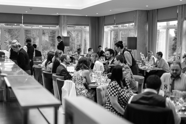 wedding breakfast at the luxury hotel cromlix