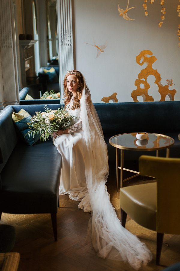 wedding photos cromlix bridal shots at the luxury hotel