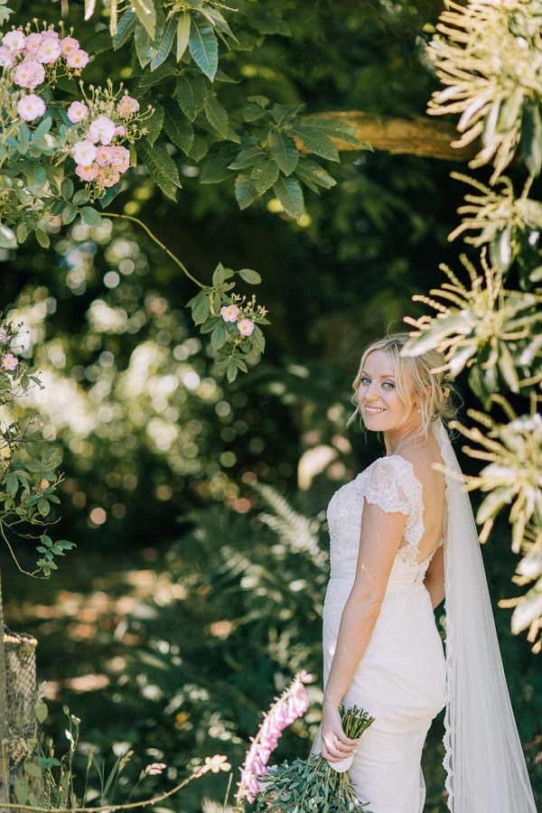 bridal shots in the garden loch lomond