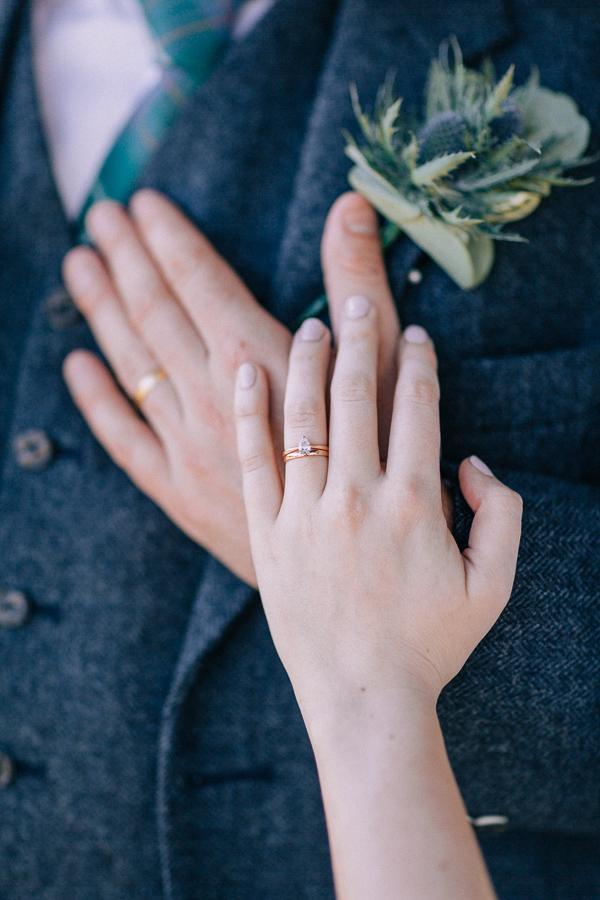 wedding rings loch lomond