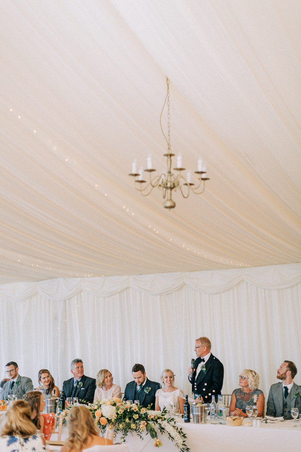 fathers speech at the wedding on loch lomond