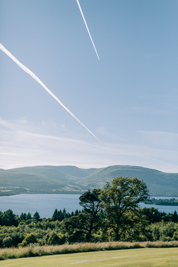 loch lomond sky and water