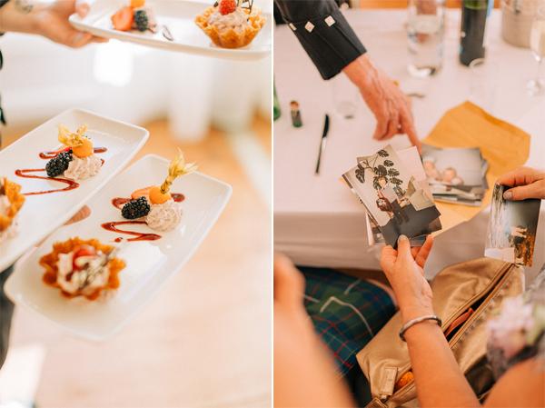 wedding dessert loch lomond