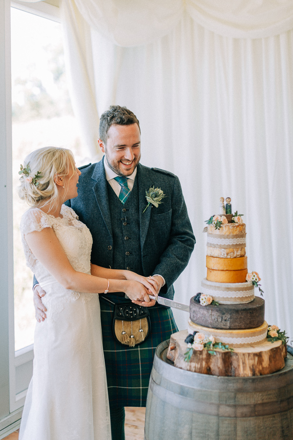 cutting of the cake loch lomond