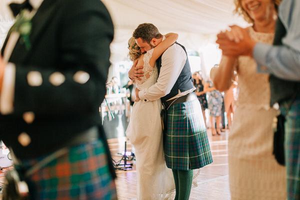first dance wedding on loch lomond