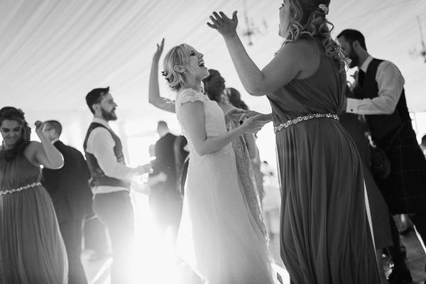 wedding fun evening reception loch lomond