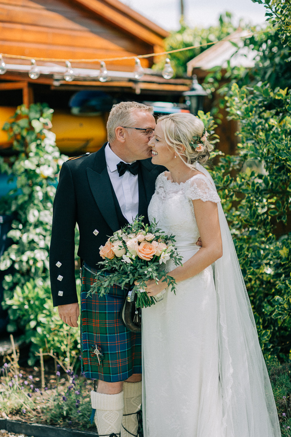 bride an her father