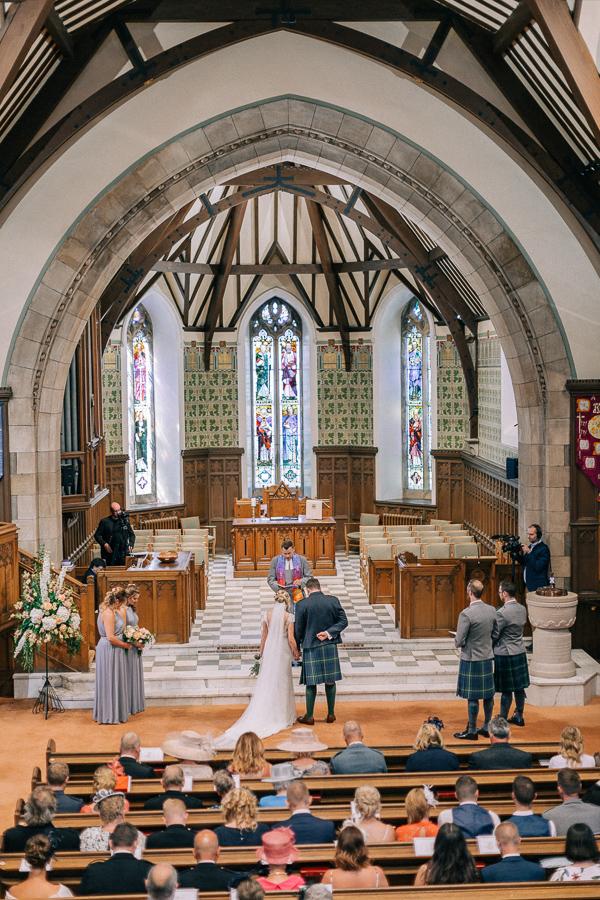 religious ceremony parish church helensburgh