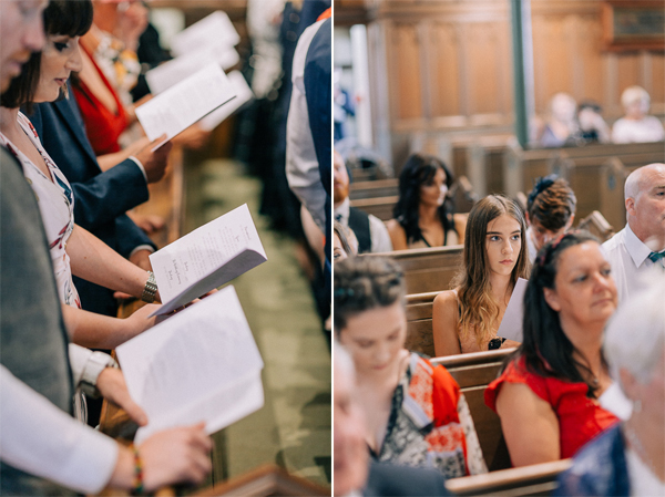 guests at the church in helensburgh