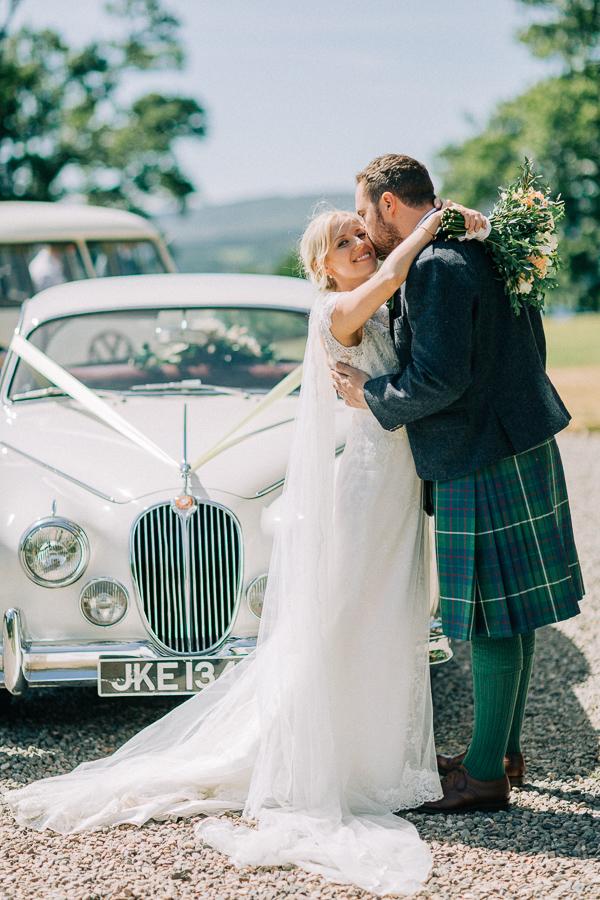 just married loch lomond