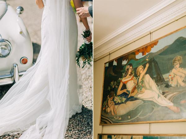 wedding dress loch lomond
