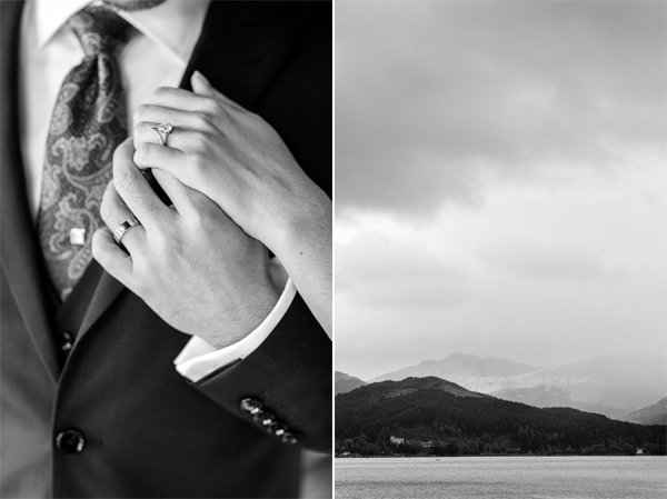 weddings rings and loch view scotland