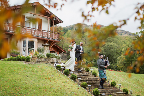 wedding photos the lodge on loch goil fotogenic of scotland