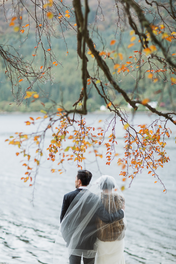 wedding photos at loch goil fotogenic of scotland