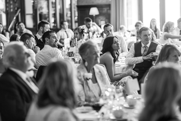 guests sitting during speeches