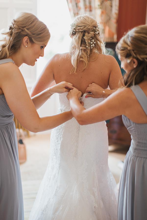 wedding photographer lochgreen hotel troon scotland