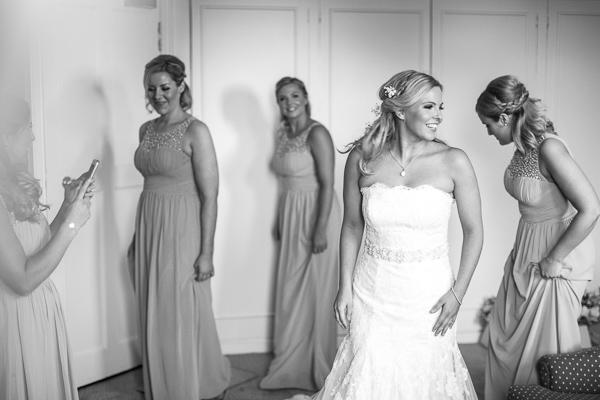 bride and bridesmates