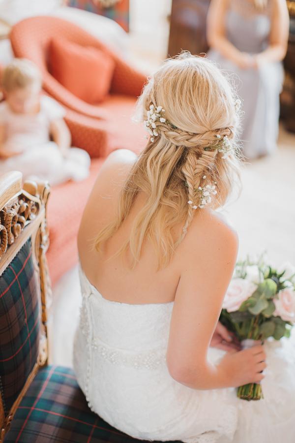scottish wedding hairstyle
