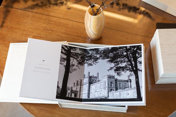 wedding albums from Glasgow and Edinburgh