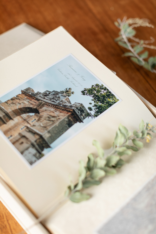 culzean castle wedding albums from Scotland
