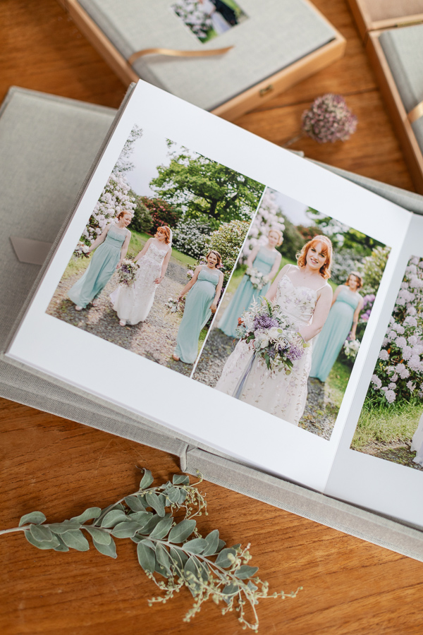 wedding albums from perth Scotland
