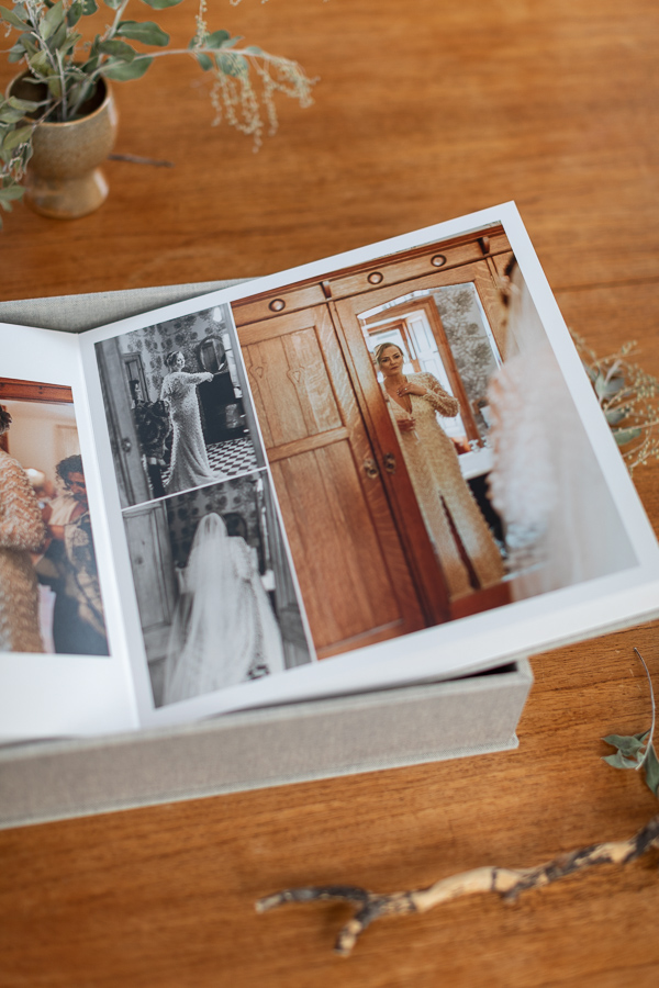 wedding albums from Glasgow Scotland