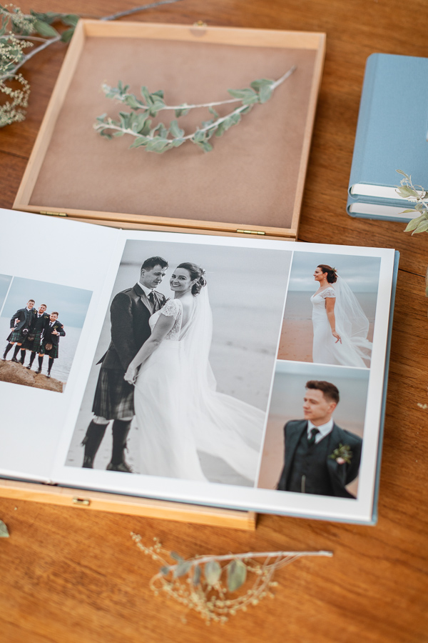 wedding albums glasgow scotland ayrshire