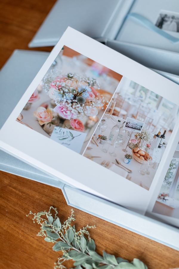 wedding albums from loch lomond Scotland