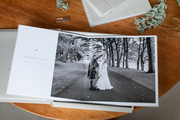 wedding albums from Ayr Scotland