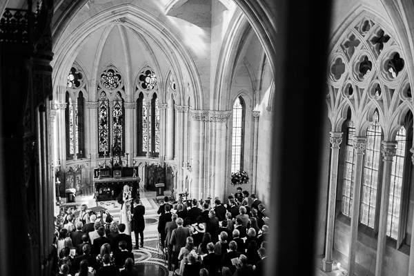 chapel ceremony at mount stuart