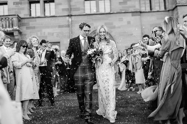 wedding celebration at mount stuart