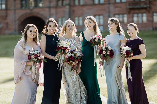 wedding photos mount stuart