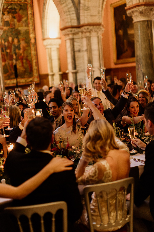 toast during speeches at mount stuart
