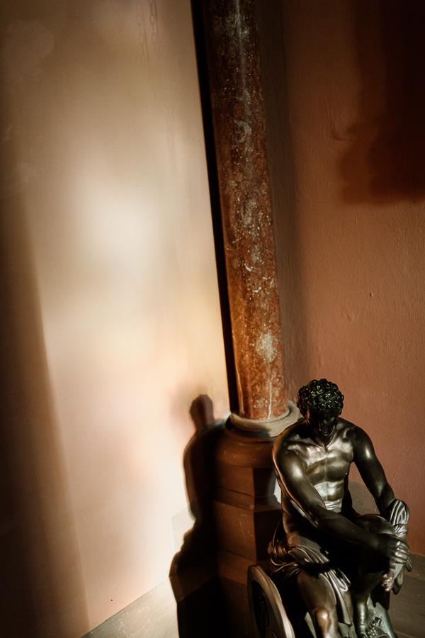 statue at mount stuart house