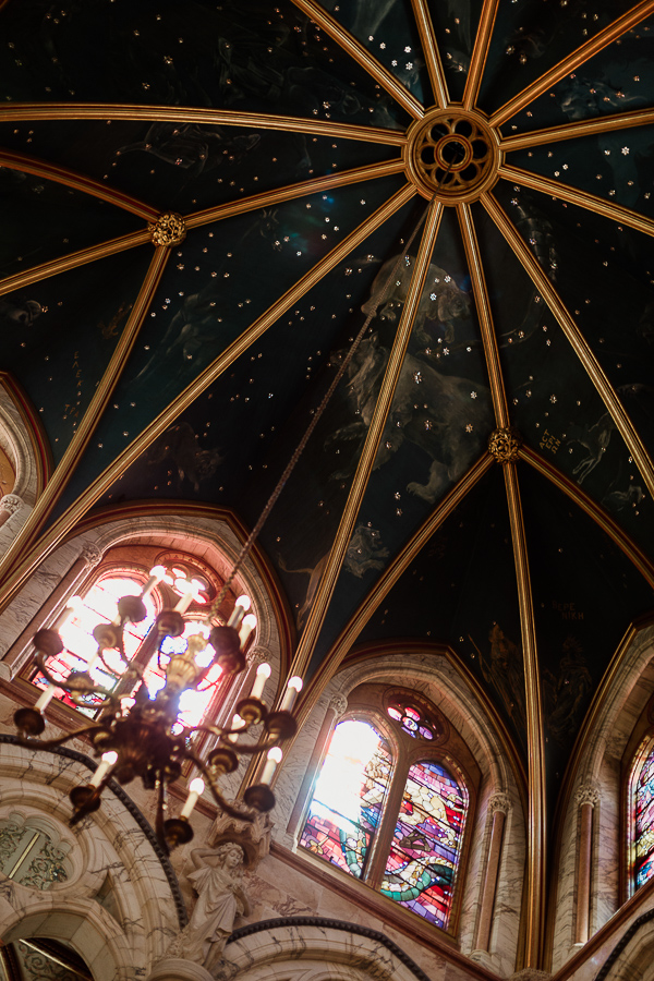ceiling of the great hall isle of bute