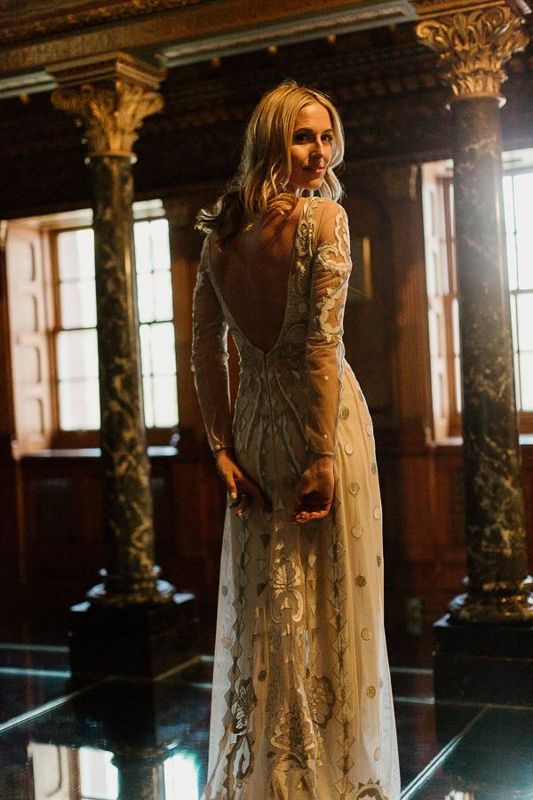 beautiful bride isle of bute
