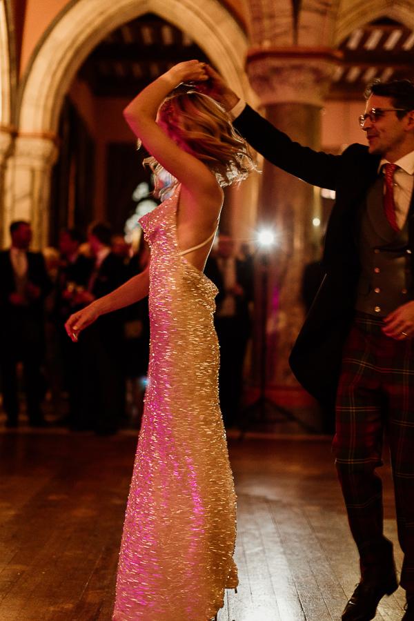 first dance twirle at mount stuart wedding