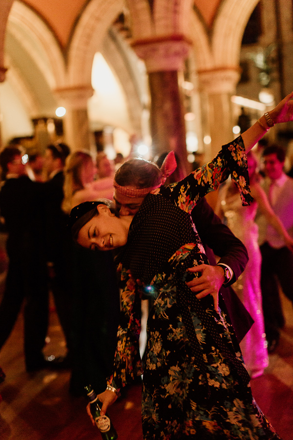 a couple dancing at reception