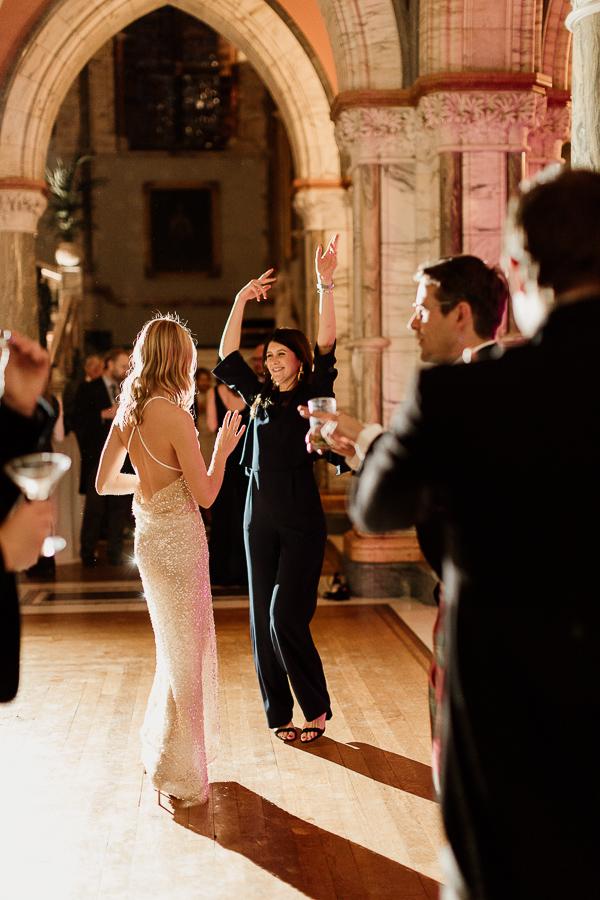 dancing through the evening