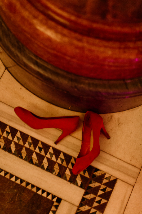 hogh hills shoes left during dancing