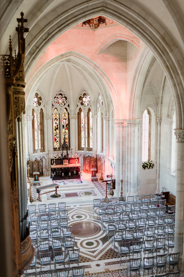 chapel ceremony set up mount stuart