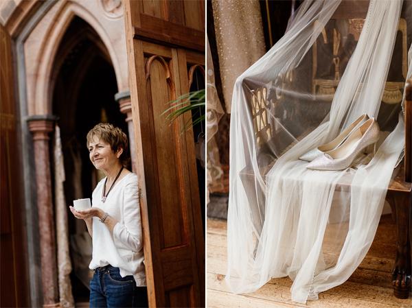 wedding preparations at mount stuart