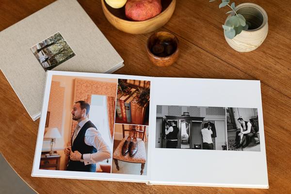 Wedding Photographers Edinburgh Albums 4