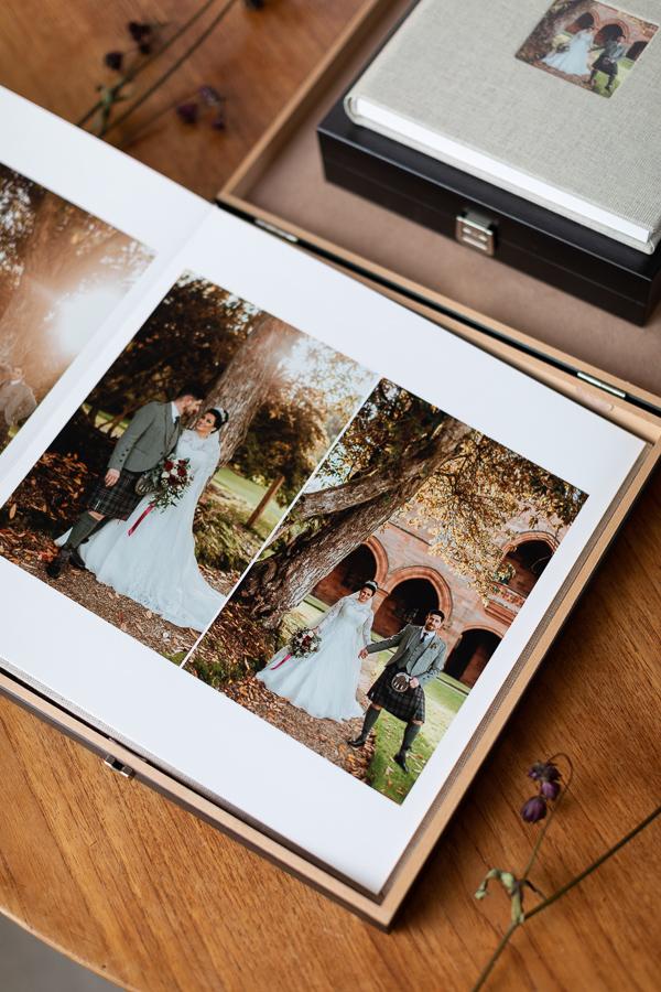 Wedding Photographers Edinburgh Albums 59