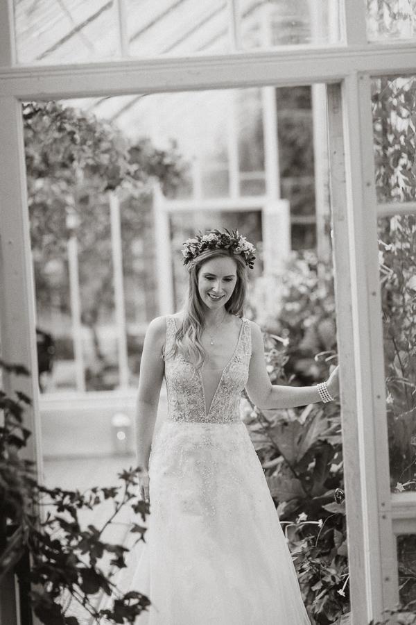 black and white wedding photography ayshire Glenapp Estate
